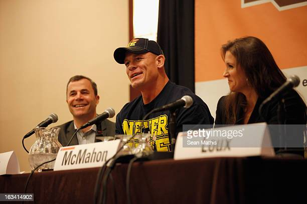 Perkins Miller Executive Vice President of Digital Media WWE professional wrestler John Cena and Executive Vice President Creative for World...