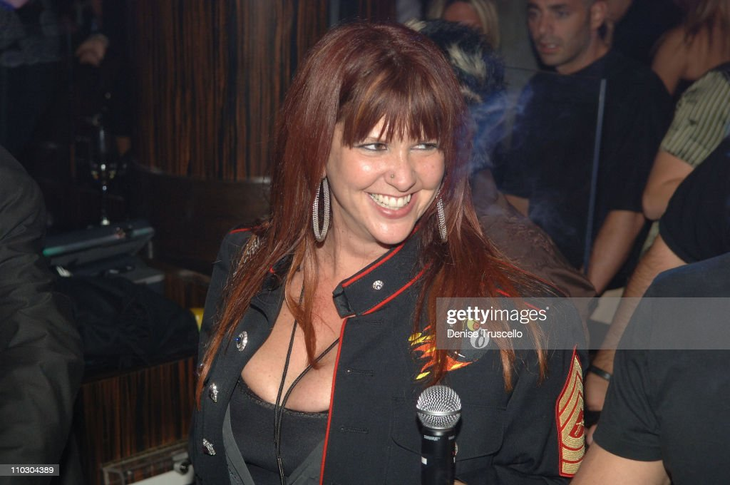 Perla Ferrer attends a Velvet Revolver after party at JET Nightclub at The Mirage Hotel and Casino on September 21, 2007 in Las Vegas, Nevada.