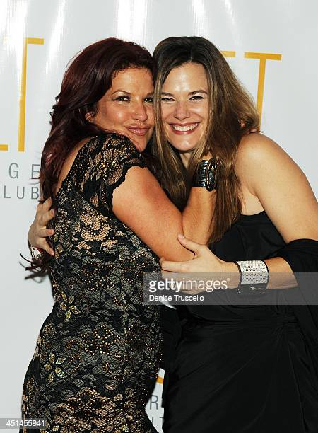 Perla Hudson and Gilligan Stillwater arrives at Jet Nightclub at The Mirage Hotel and Casino on July 24, 2009 in Las Vegas, Nevada.