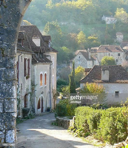 perle de la vallée du lot - aveyron stock pictures, royalty-free photos & images
