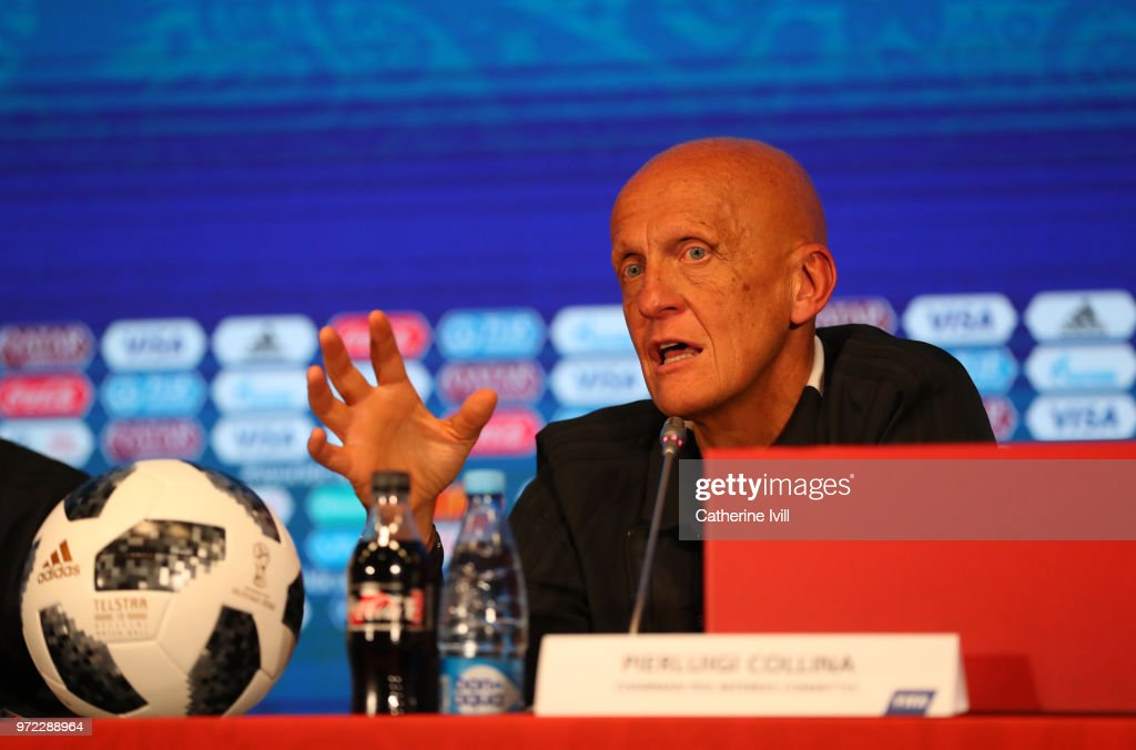 Referees Media Day - 2018 FIFA World Cup Russia