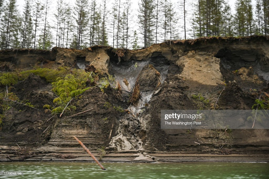 Siberia's permafrost is melting with lasting consequences. : News Photo