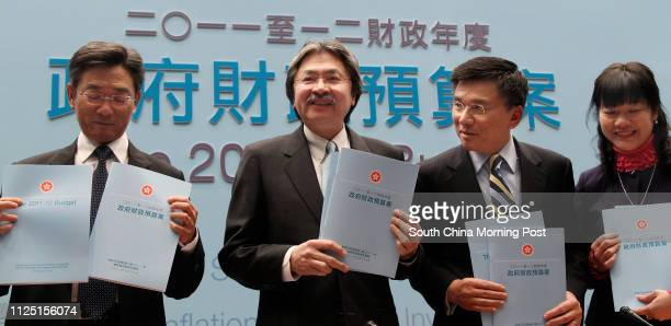 Permanent Secretary for Financial Services and the Treasury Stanley Ying Yiuhong Financial Secretary John Tsang Chunwah Secretary for Financial...