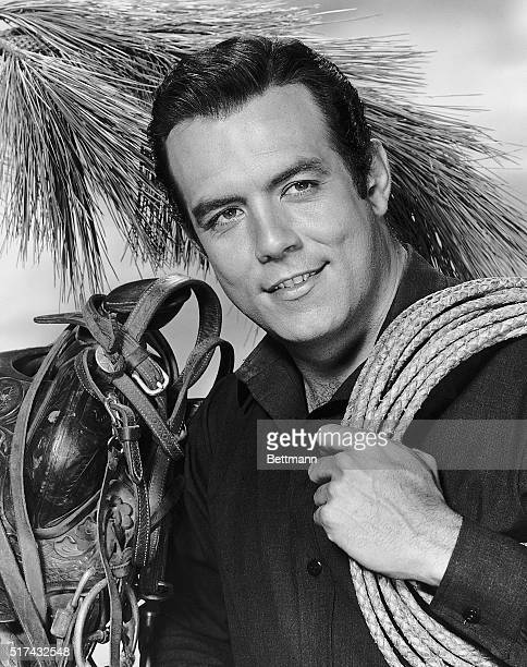 Pernell Roberts as Adam Cartwright from television series 'Bonanza' 19591973 Roberts was in series from 19591965 CA 1960s
