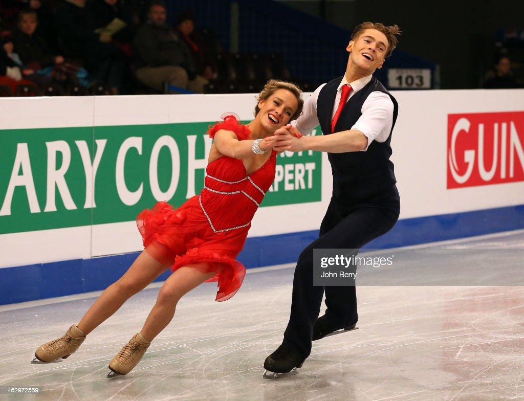 ISU European Figure Skating Championships 2014 : Day 1