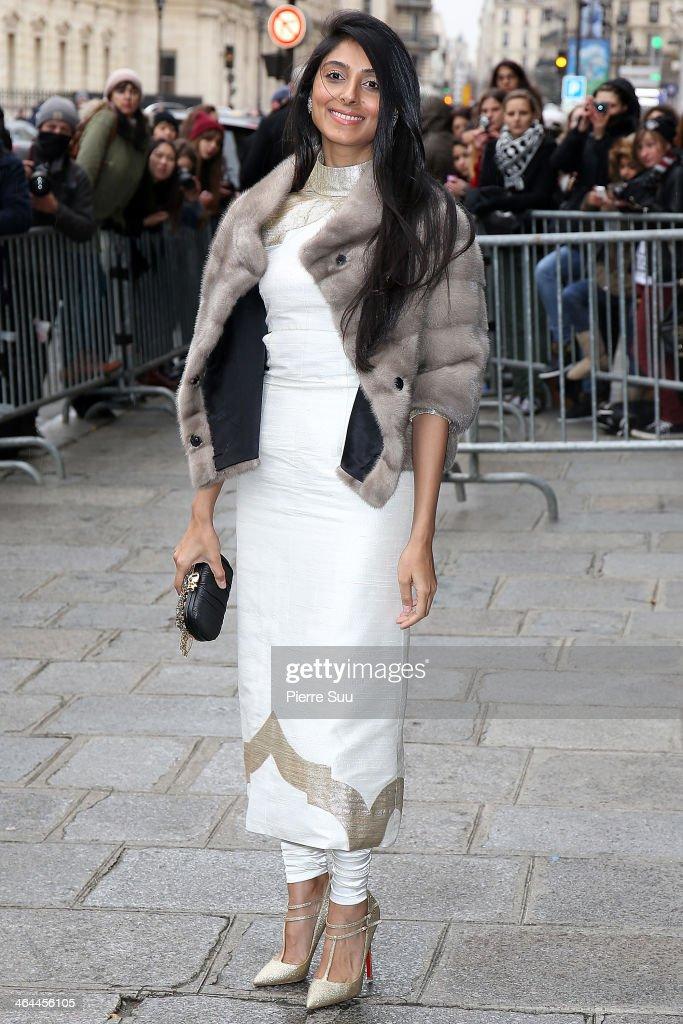 Jean Paul Gaultier : Outside Arrivals - Paris Fashion Week - Haute Couture S/S 2014 : News Photo
