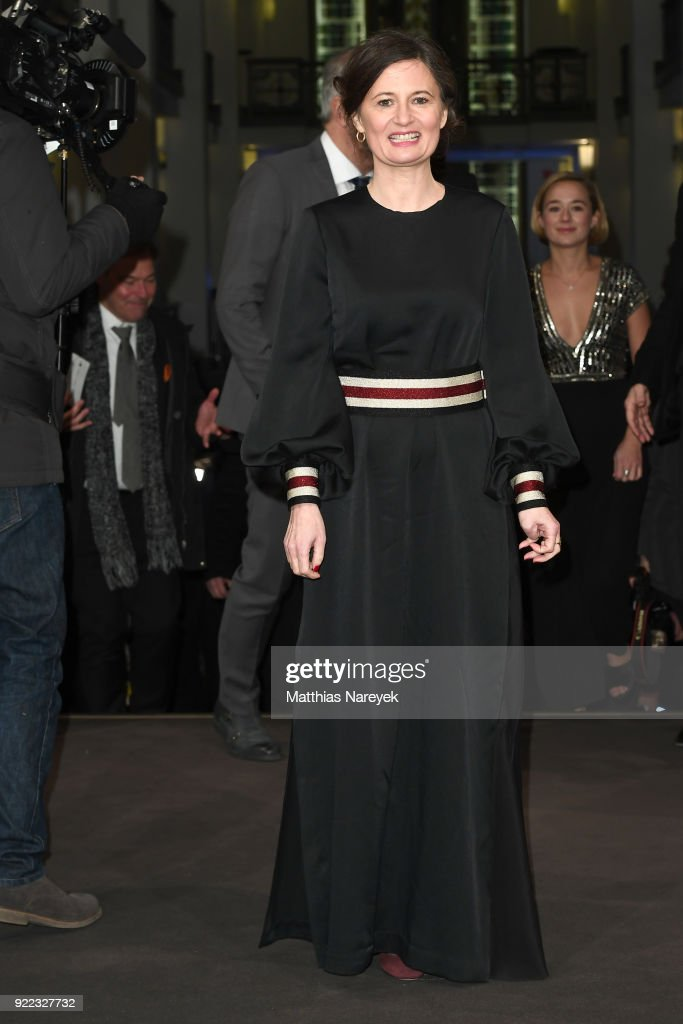 Pernille Fischer Christensen attends the 'Becoming Astrid' (Unga Astrid) premiere during the 68th Berlinale International Film Festival Berlin at Friedrichstadtpalast on February 21, 2018 in Berlin, Germany.