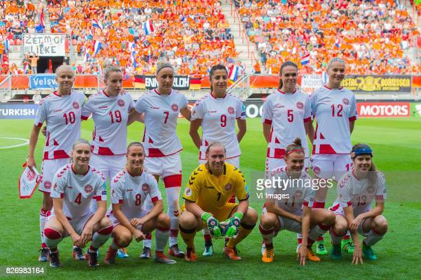 Pernille Harder of Denmark women Cecilie Sandvej of Denmark women Sanne Troelsgaard of Denmark women Nadia Nadim of Denmark women Simone Boye...