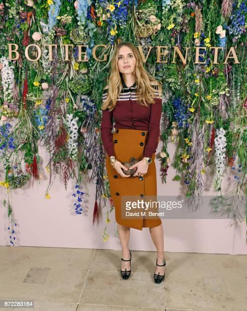 Pernille Teisbaek attends Bottega Veneta's 'The Hand of the Artisan Cocktail Dinner' at Chiswick House And Gardens on November 9 2017 in London...