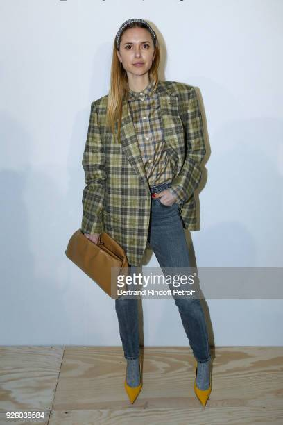 Pernille Teisbaek attends the LVMH Prize 2018 Designers Presentation on March 1 2018 in Paris France
