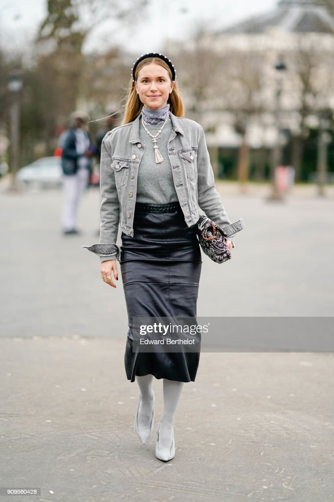 Street Style -Paris Fashion Week -Haute Couture Spring/Summer 2018 : Day Two