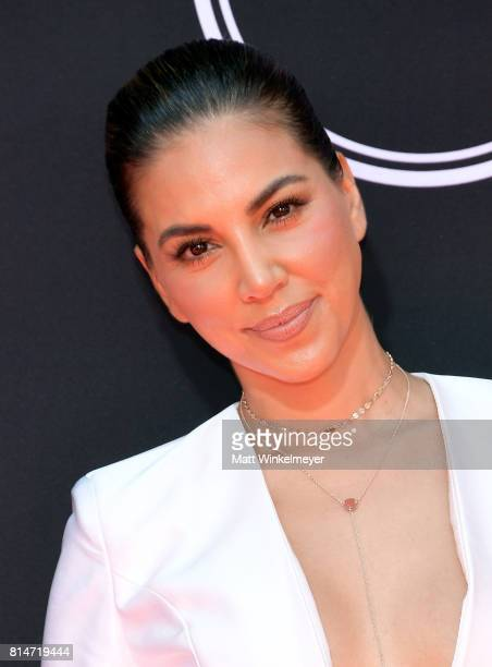 TV peronality Liz Hernandez attends the 2017 ESPYS at Microsoft Theater on July 12 2017 in Los Angeles California