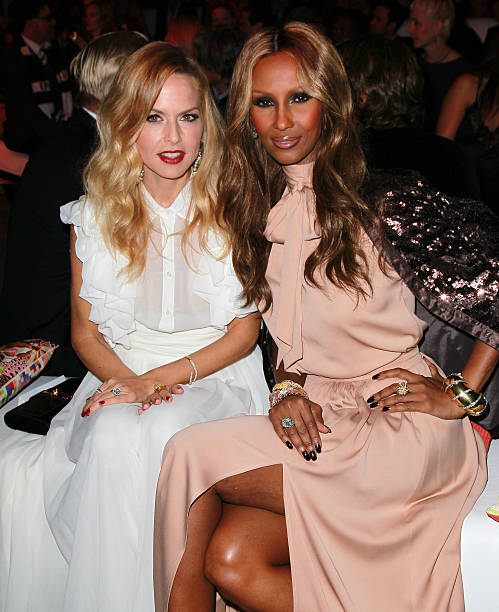 TV peronality Rachel Zoe (L) and supermodel Iman attend the Rodeo Drive Walk  of d01b1ff8d