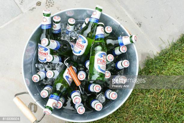 Peroni at the The Daily Summer's 3rd annual Boys of Summer Party on July 15 2017 in Sag Harbor New York