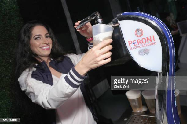 Peroni being served at The Food Network & Cooking Channel New York City Wine & Food Festival Presented By Coca-Cola - Smorgasburg presented by...