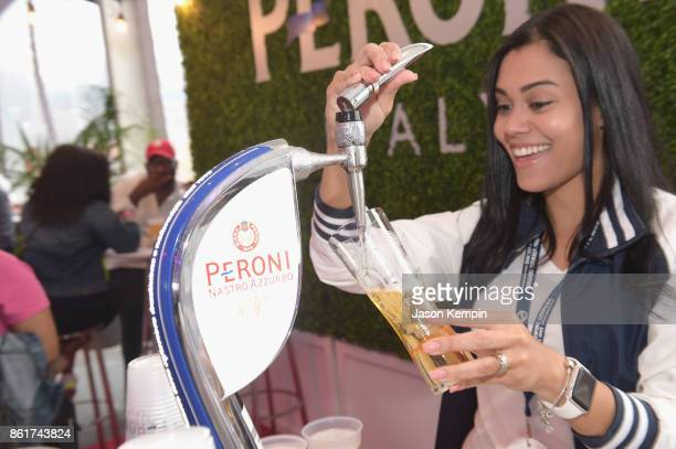 Peroni is served at the Food Network Cooking Channel New York City Wine Food Festival Presented By CocaCola CocaCola Backyard BBQ presented by...