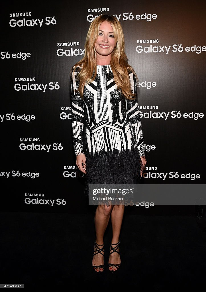 TV perosnality Cat Deeley attends the Samsung Studio LA Launch Event across from the Grove on April 28, 2015 in Los Angeles, California.