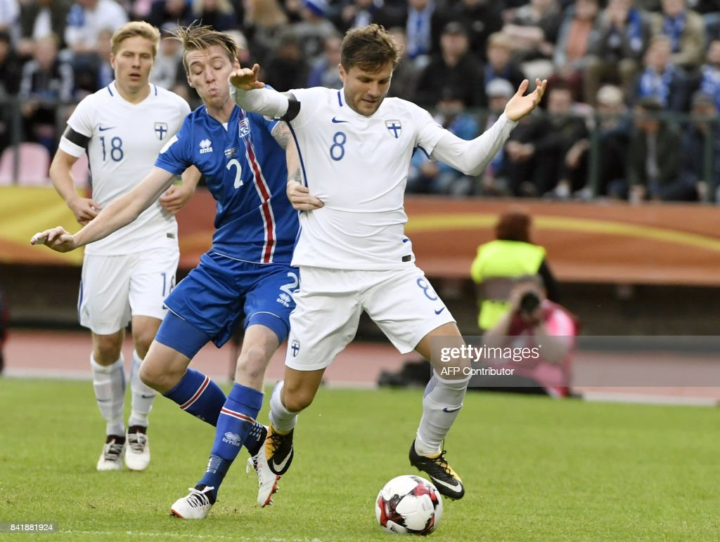 FBL-WC-QUALIFIER-FIN-ISL : News Photo