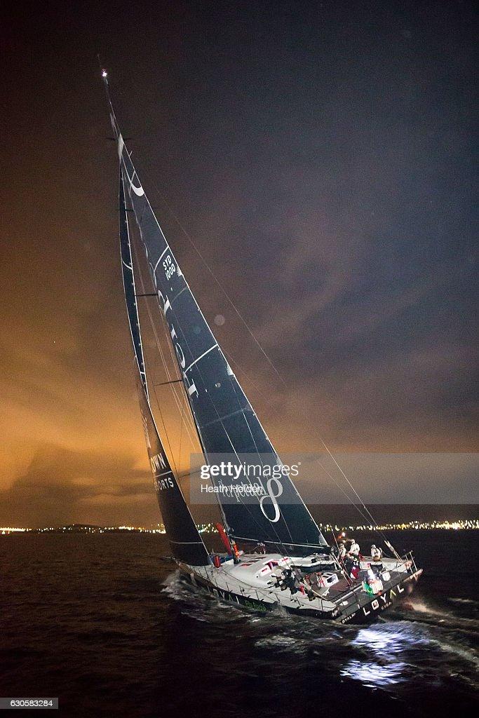 2016 Sydney To Hobart Finish : News Photo