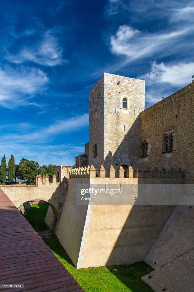 Palace of the Kings of Majorca. : News Photo