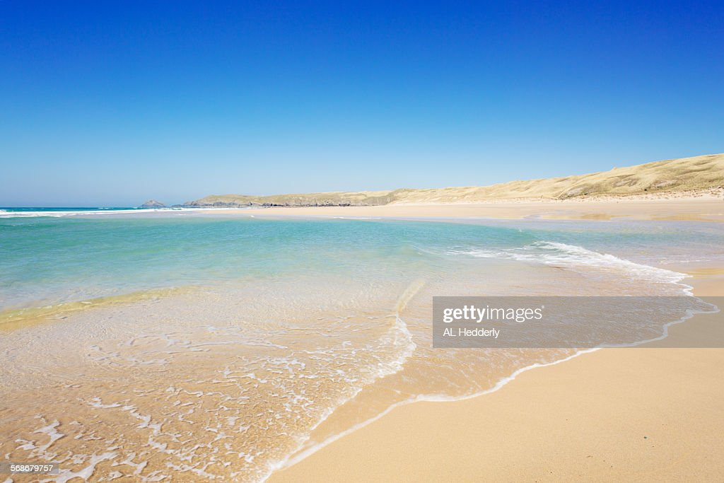 Perran Beach, Perranporth, Cornwall : Stock Photo
