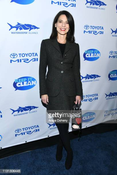 Perrey Reeves at 5th Annual Keep It Clean Live Comedy Benefit For Waterkeeper Alliance at Largo At The Coronet on February 21 2019 in Los Angeles...