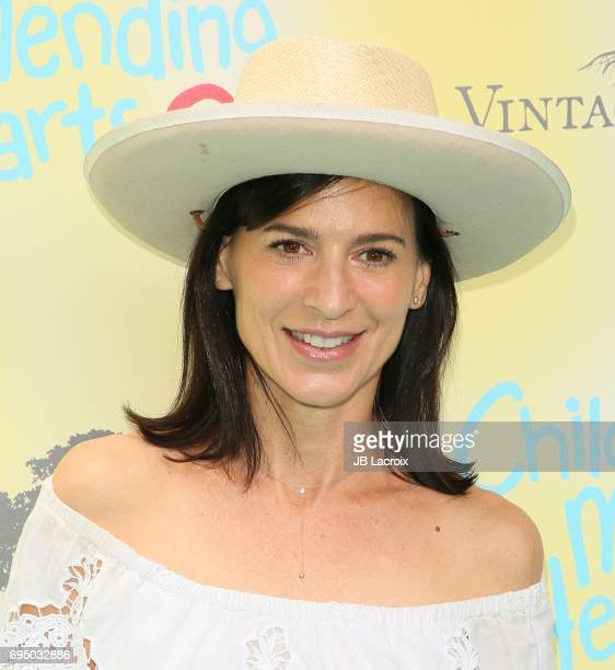 Perrey Reeves attends the Children Mending Hearts 9th Annual Empathy Rocks Fundraiser on June 11 2017 in Beverly Hills California