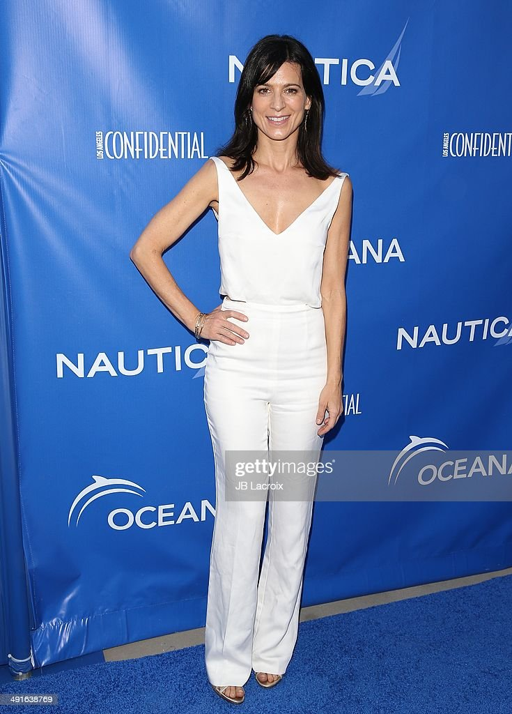 Perrey Reeves attends the Nautica and LA Confidential's Oceana Beach House Party on May 16, 2014 in Santa Monica, California.