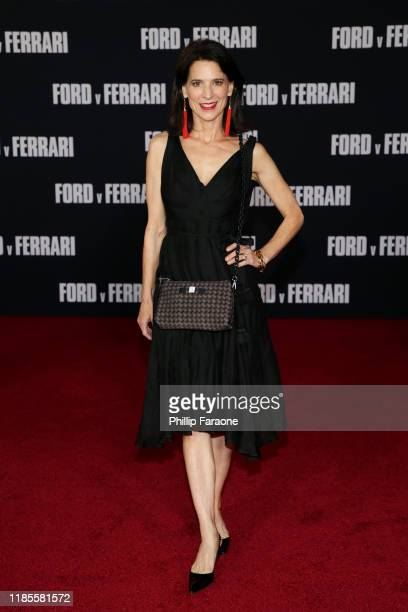 Perrey Reeves attends the premiere of FOX's Ford V Ferrari at TCL Chinese Theatre on November 04 2019 in Hollywood California