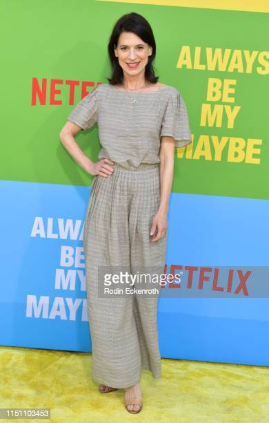 """Perrey Reeves attends the premiere of Netflix's """"Always Be My Maybe"""" at Regency Village Theatre on May 22, 2019 in Westwood, California."""