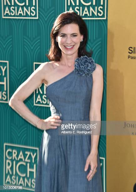 """Perrey Reeves attends the premiere of Warner Bros. Pictures' """"Crazy Rich Asiaans"""" at TCL Chinese Theatre IMAX on August 7, 2018 in Hollywood,..."""