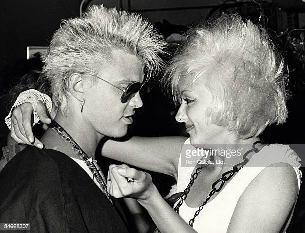 Perri Lister and Billy Idol