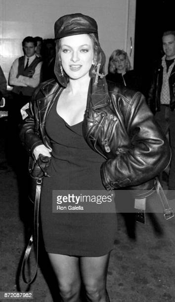 Perri Lister attends Madonna Like A Prayer Party on March 18 1989 at the Plaza Hotel in New York City