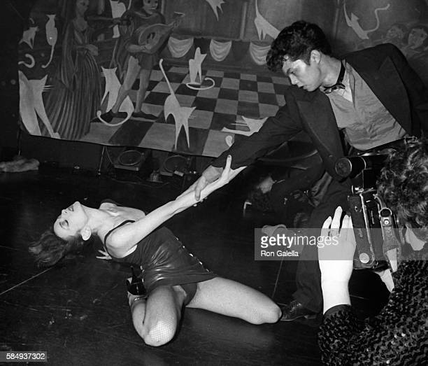 Perri Lister attends New Year's Eve Party on December 31 1983 at the Cat Club in New York City