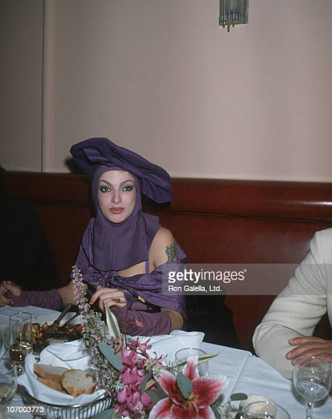 Perri Lister during Randy Jones' Birthday Party at Le Monde Restaurant in New York City New York United States