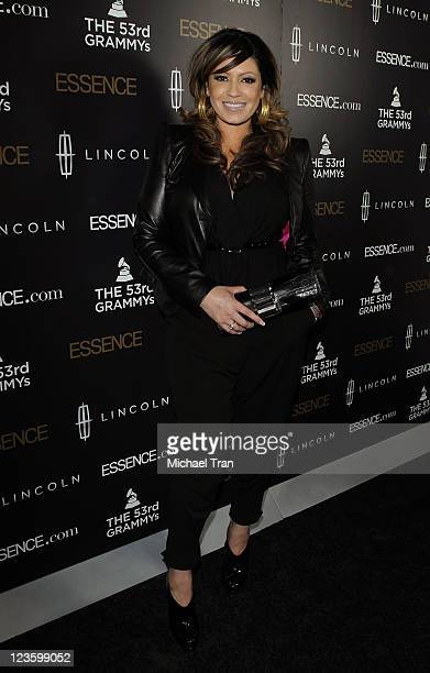 Perri Pebbles Reid arrives at the ESSENCE 2nd Annual Black Women in music reception honoring Janelle Monae held at Playhouse Hollywood on February 9...