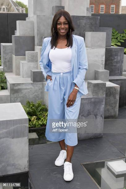 Perri ShakesDrayton attends the Chelsea Flower Show 2018 on May 21 2018 in London England