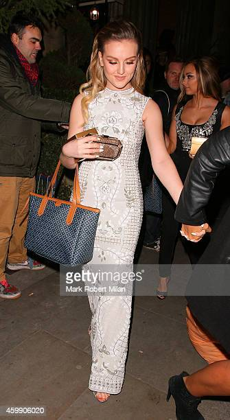 Perrie Edwards attending the Cosmopolitan Ultimate Women Of The Year Awards on December 3 2014 in London England
