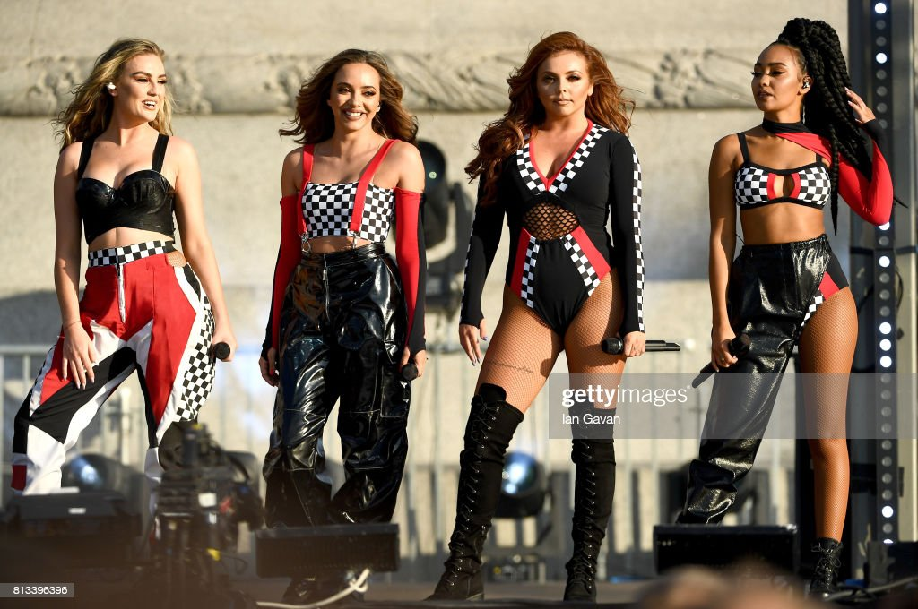 Perrie Edwards Jade Thirlwall Jesy Nelson And Leigh Anne Pinnock