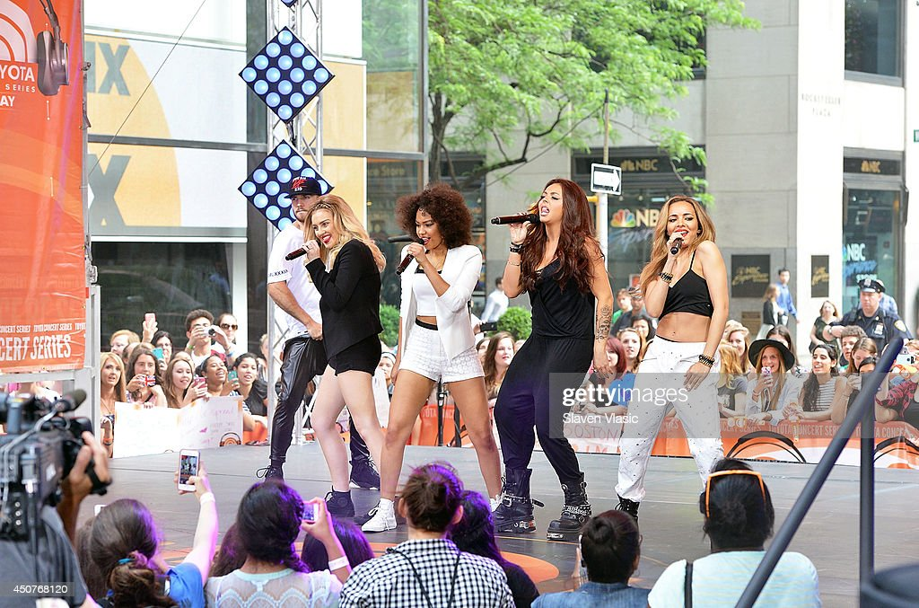 "Little Mix Performs On NBC's ""Today"" : News Photo"