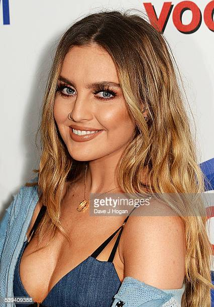 Perrie Edwards of Little Mix arrives for Capital's Summertime Ball at Wembley Stadium on June 11 2016 in London England