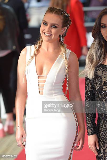 Perrie Edwards of Little Mix arrives for the Glamour Women Of The Year Awards in Berkeley Square Gardens on June 7 2016 in London United Kingdom