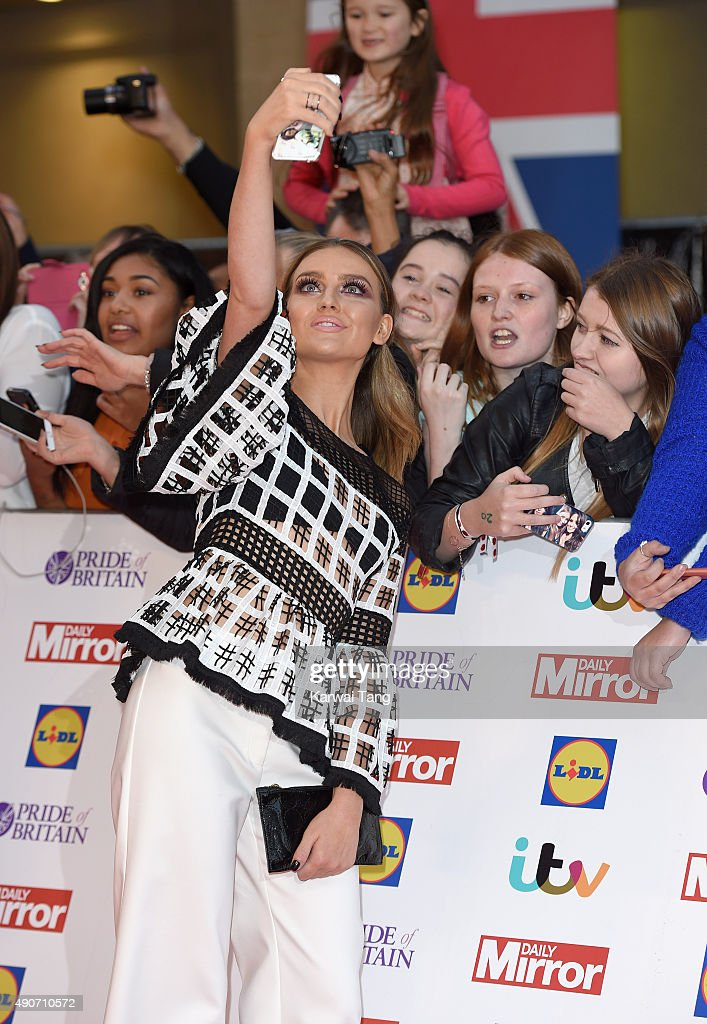 Perrie Edwards of Little Mix attends the Pride of Britain awards at The Grosvenor House Hotel on September 28, 2015 in London, England.