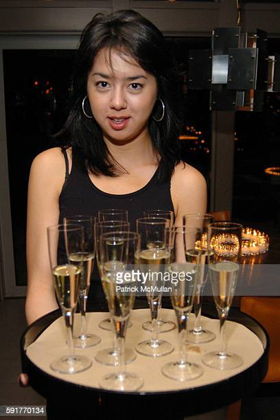 Perrier Jouet attends Champagne Perrier Jouet Launch of the 1998 Fleur de Champagne at Soho Grand Penthouse Lofts on October 17, 2005 in New York...
