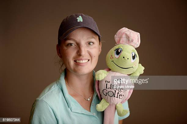 Perrine Delacour poses for a portrait during the KIA Classic at the Park Hyatt Aviara Resort on March 23 2016 in Carlsbad California