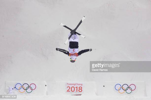 Perrine Laffont of France competes during the Freestyle Skiing Ladies' Moguls Final on day two of the PyeongChang 2018 Winter Olympic Games at...