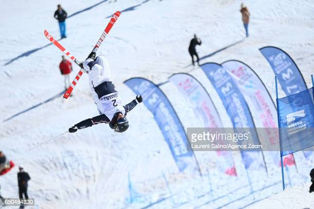 Perrine Laffont of France wins the gold medal during the FIS Freestyle Ski Snowboard World Championships Dual Moguls on March 09 2017 in Sierra...