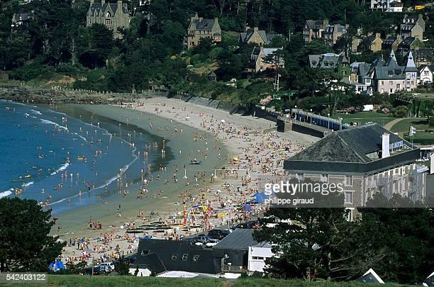 Perros Guirec's Trestraou beach   Location Cote d'Armor France