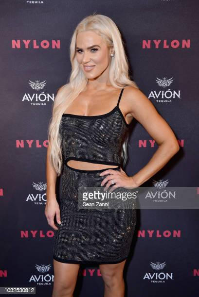 Perry attends NYLON's Annual Rebel Fashion Party at Gramercy Park Hotel Rose Bar at Gramercy Park Hotel on September 12 2018 in New York City