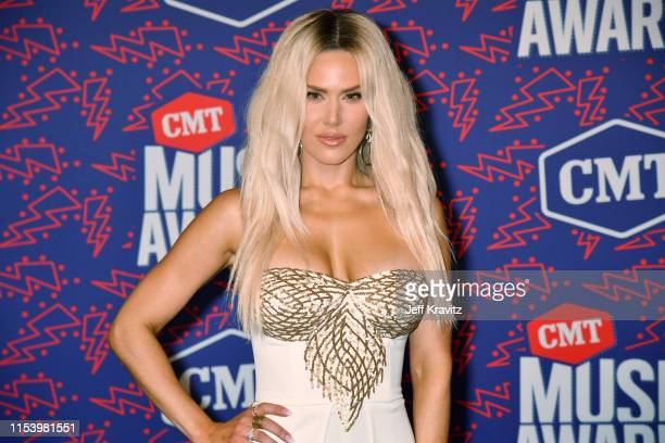 Perry attends the 2019 CMT Music Awards at Bridgestone Arena on June 05, 2019 in Nashville, Tennessee.
